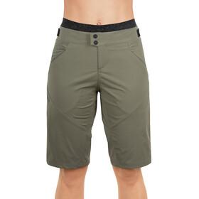 Cube AM pantaloncini da ciclismo Donna Con pantaloncino interno verde oliva